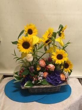 夏に強い花、癒しの…